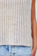 Load image into Gallery viewer, Beige Knit Top with Metallic Detail