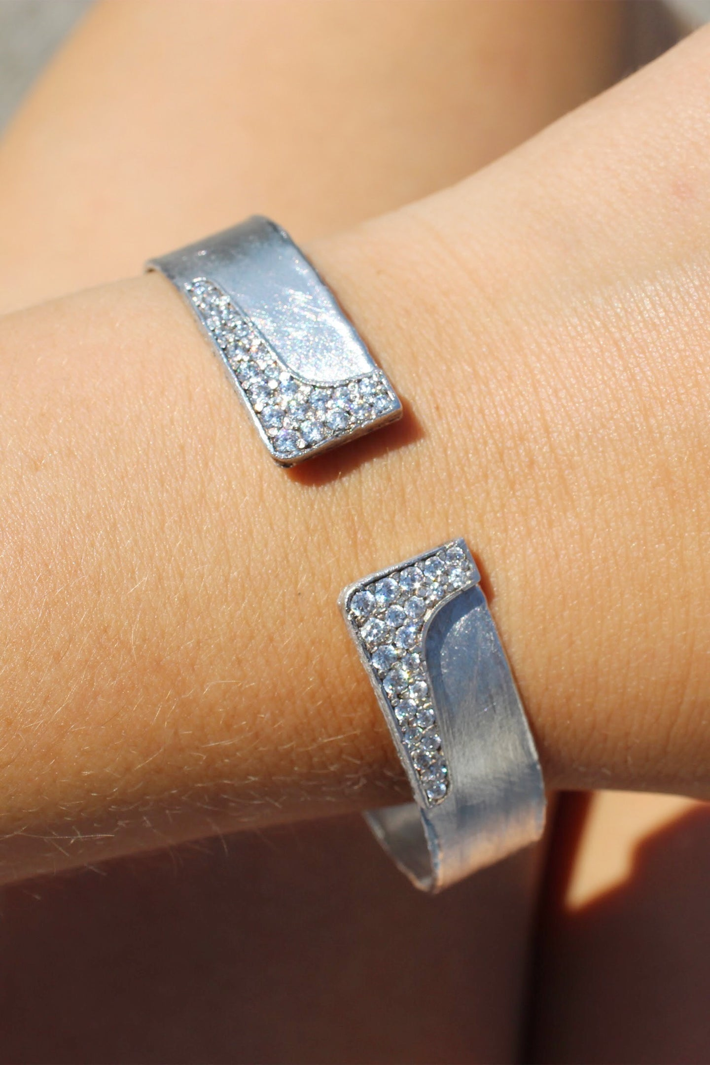 Cuff with Crystal Detail