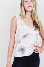 Load image into Gallery viewer, Tula Crochet Knit Tank