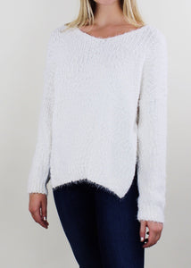 White By The Sea Sweater