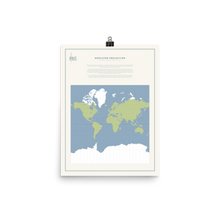 Load image into Gallery viewer, Map Men Poster - Mercator Projection