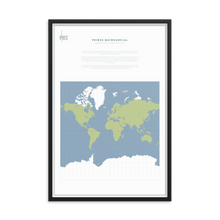 Load image into Gallery viewer, Map Men Framed Map - Mercator Projection