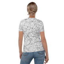 Load image into Gallery viewer, All Over Print T-Shirt - road map (white)