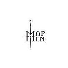 Load image into Gallery viewer, Map Men logo sticker