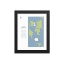 Load image into Gallery viewer, Map Men Framed Map - Cassini Projection