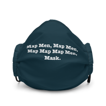 Load image into Gallery viewer, Map Map Map Men, Mask.