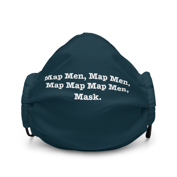 Map Map Map Men, Mask.