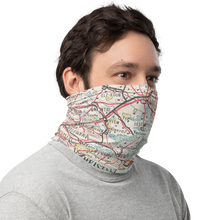 Load image into Gallery viewer, Neck Gaiter with Polish Air Force Map