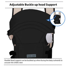 Load image into Gallery viewer, Adjustable Hands-Free 3-in-1 Baby Carrier Black