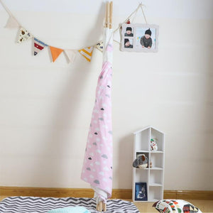 Kids Teepee Tent with Non - Slip Padded Mat Kids Pink