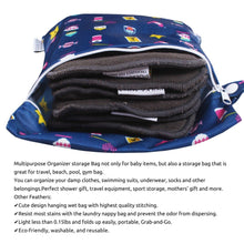Load image into Gallery viewer, Waterproof Wet Bag Pouch with Zipper (Mix)