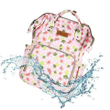 Load image into Gallery viewer, Premium Diaper Backpack Bag - 17 Pockets Watermelon