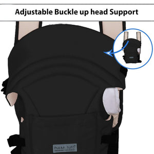 Adjustable Hands-Free 3-in-1 Baby Carrier Black