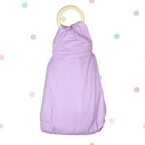 Baby Ring Sling Carrier Wrap Purple