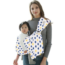 Load image into Gallery viewer, Baby Ring Sling Carrier Wrap Star