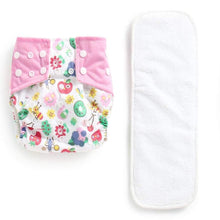 Load image into Gallery viewer, Reusable & Size Adjustable Cloth Diaper White