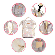 Load image into Gallery viewer, Premium Diaper Backpack Bag - 17 Pockets Unicorn