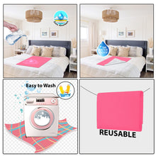 Load image into Gallery viewer, Baby Dry Sheet / Bed Protector Small PInk (Size 50 x 70 CM)
