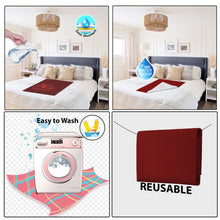 Load image into Gallery viewer, Baby Dry Sheet / Bed Protector Medium Maroon (Size 70 x 100 CM)