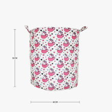 Load image into Gallery viewer, Polka Tots Laundry Bag Canvas Storage Bag Baby Unicorn Print