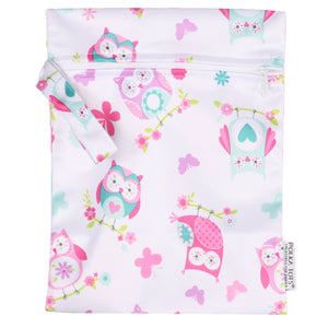 Waterproof Wet Bag Pouch with Zipper (Owl)