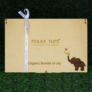 New Born Baby Premium Organic Wooden Gift Box  (Any Mix Designs/Colour/Prints )