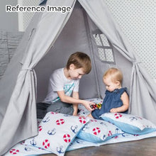 Load image into Gallery viewer, Kids Teepee Tent with Non - Slip Padded Mat Kids Pink Cloud