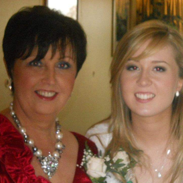 Ivy and Gold Zoe Armstrong and her mum Veronica