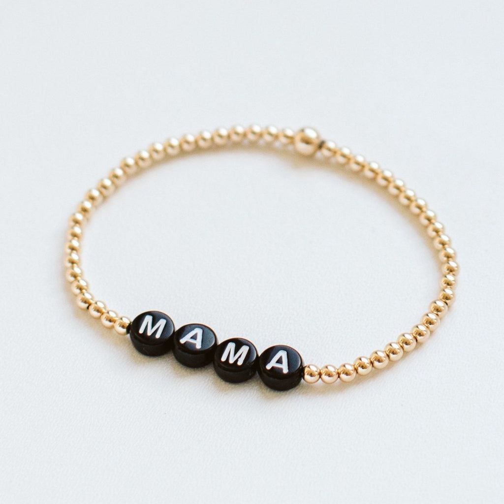 Personalised gold-filled bracelet