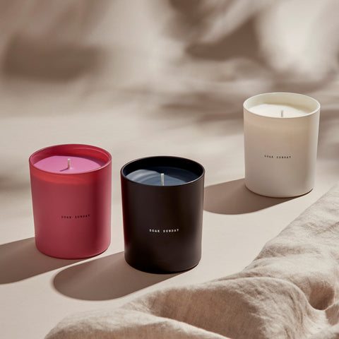 Soak Sunday Scented Candles