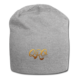 "Qronation ""Debut Gold"" Jersey Beanie - heather gray"