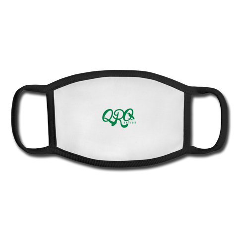"Youth Qronation ""Green Ranger"" Face Mask - white/black"