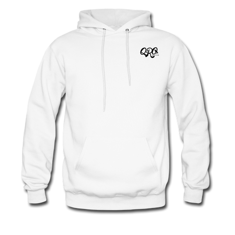 "Qronation Men's ""Clean or Cream"" Hoodie - white"
