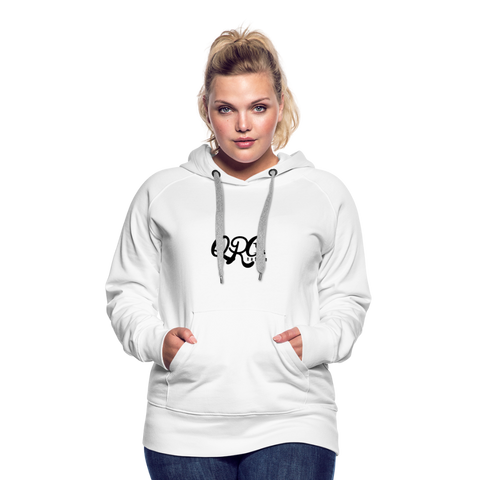 "Women's Qronation ""Clean or Cream"" Premium Hoodie - white"
