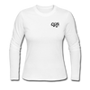 "Women's Qronation "" Clean or Cream"" Long Sleeve Jersey T-Shirt - white"