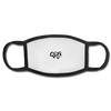 "Qronation ""Clean or Cream"" Adult Face Mask - white/black"