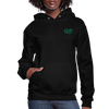 "Women's Qronation ""Green Ranger"" Brand Hoodie - black"