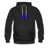 "Qronation ""True Blue"" Hoodie - black"