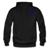 "Qronation ""True Blue"" Blend Hoodie - black"