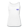 "Women's Qronation ""True Blue"" Premium Tank Top - white"