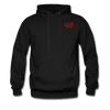 "Qronation Men's ""Red Rage"" Hoodie - black"