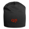 "Qronation ""Red Rage"" Jersey Beanie - black"