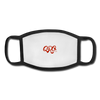 "Youth Qronation ""Red Rage"" Face Mask - white/black"