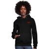 "Women's Qronation ""Red Rage"" Brand Hoodie - black"