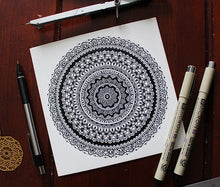 Load image into Gallery viewer, Infinity Mandala Art Print