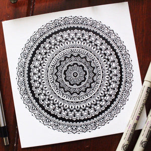 Infinity Mandala Original Artwork