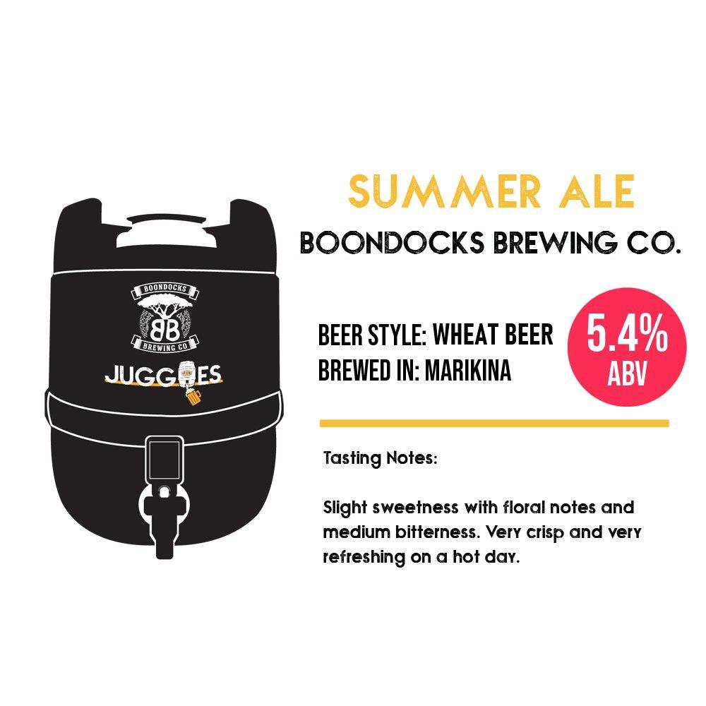 Boondocks Summer Ale | 2L