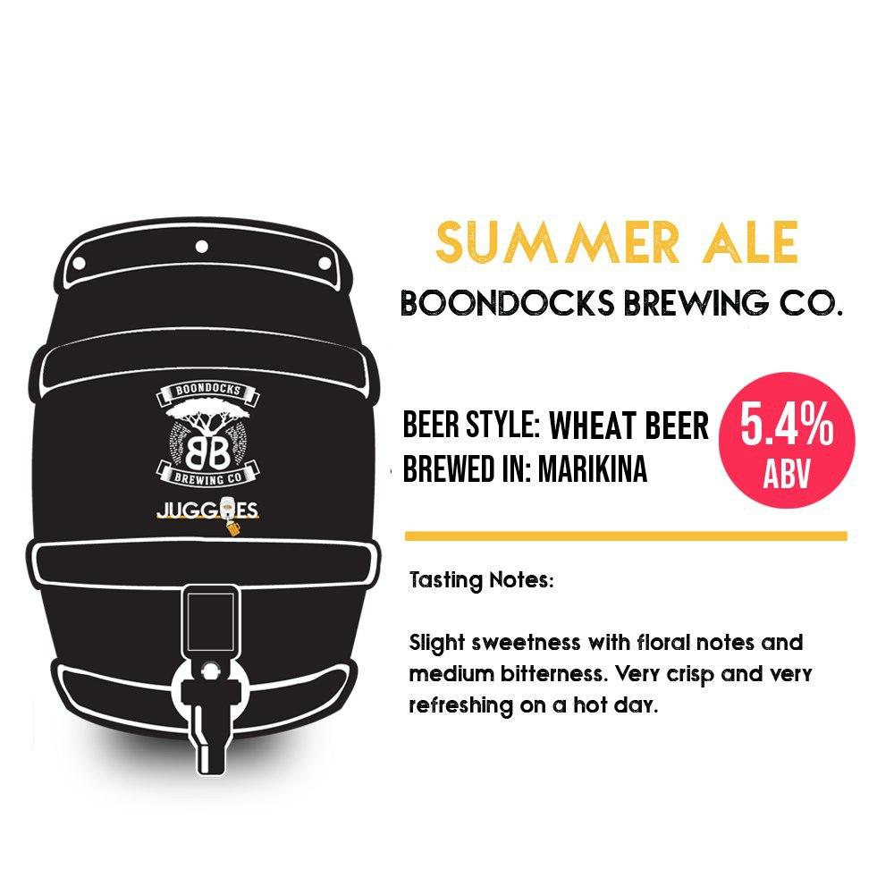 Boondocks Summer Ale | 5L