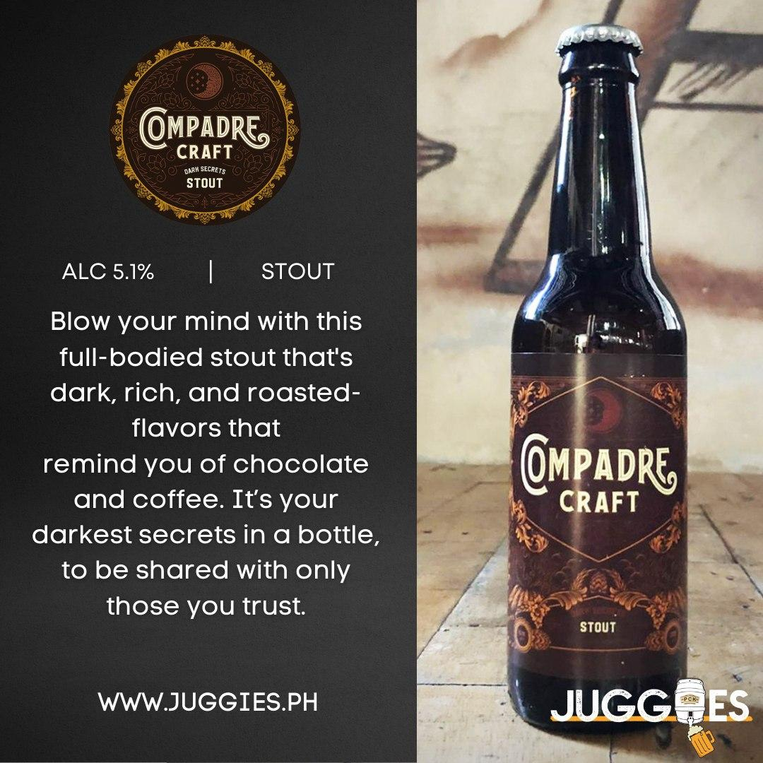 Compadre Craft Stout | 2L