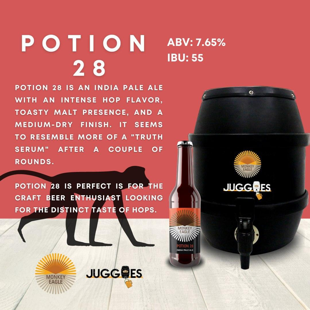 Monkey Eagle Potion 28 | 5L